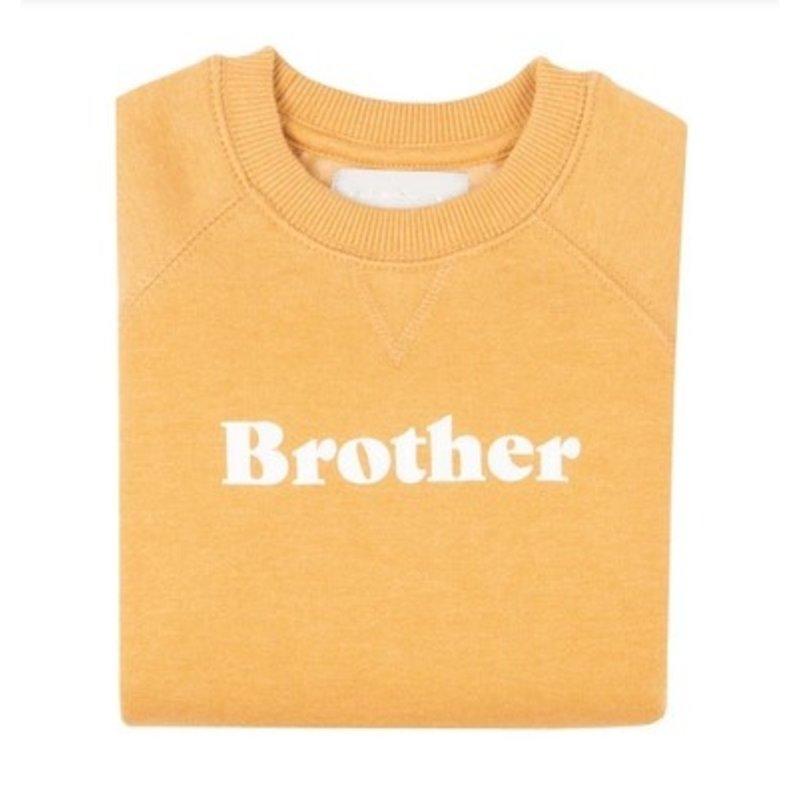 Bob & Blossom Mustard Brother Sweatshirt