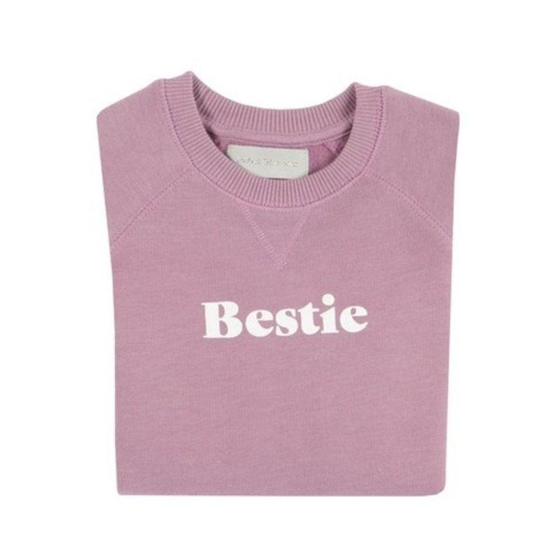 Bob & Blossom Violet Bestie Sweatshirt