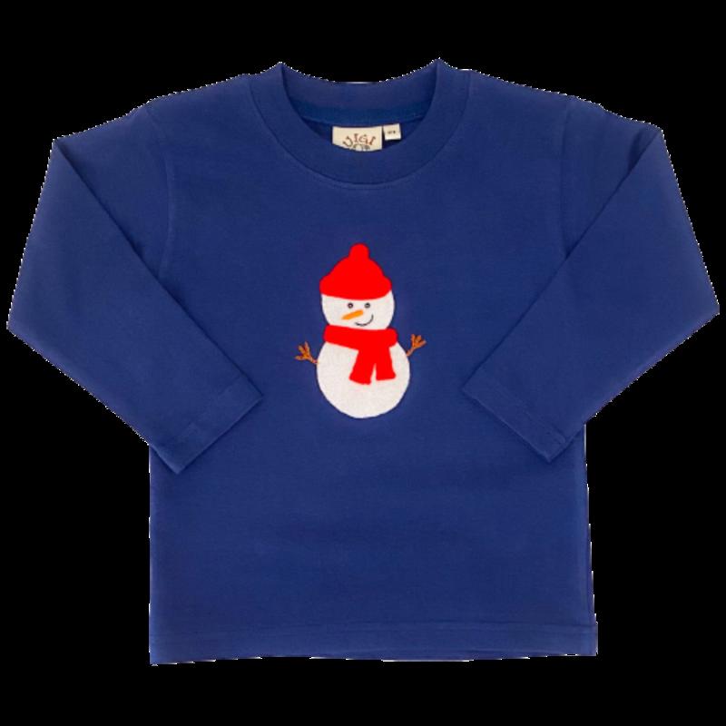 Luigi Luigi Snowman T-Shirt