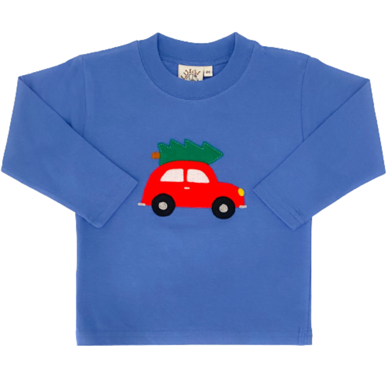 Luigi Luigi Car w/ Christmas Tree T-Shirt