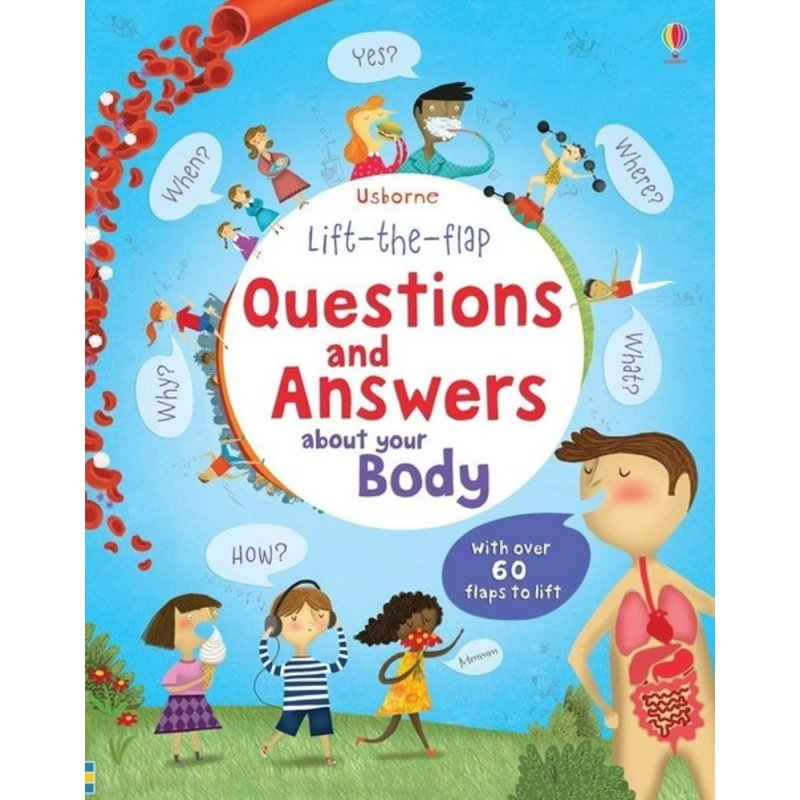 Lift-The-Flap Q & A About Your Body
