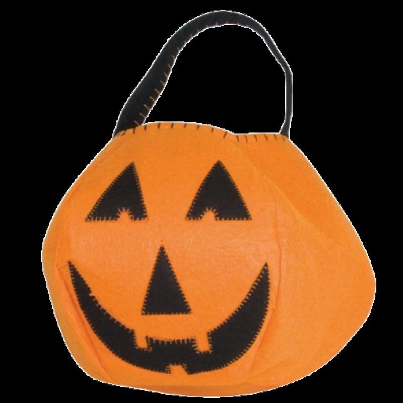 Classic Pumpkin Trick or Treat Bucket