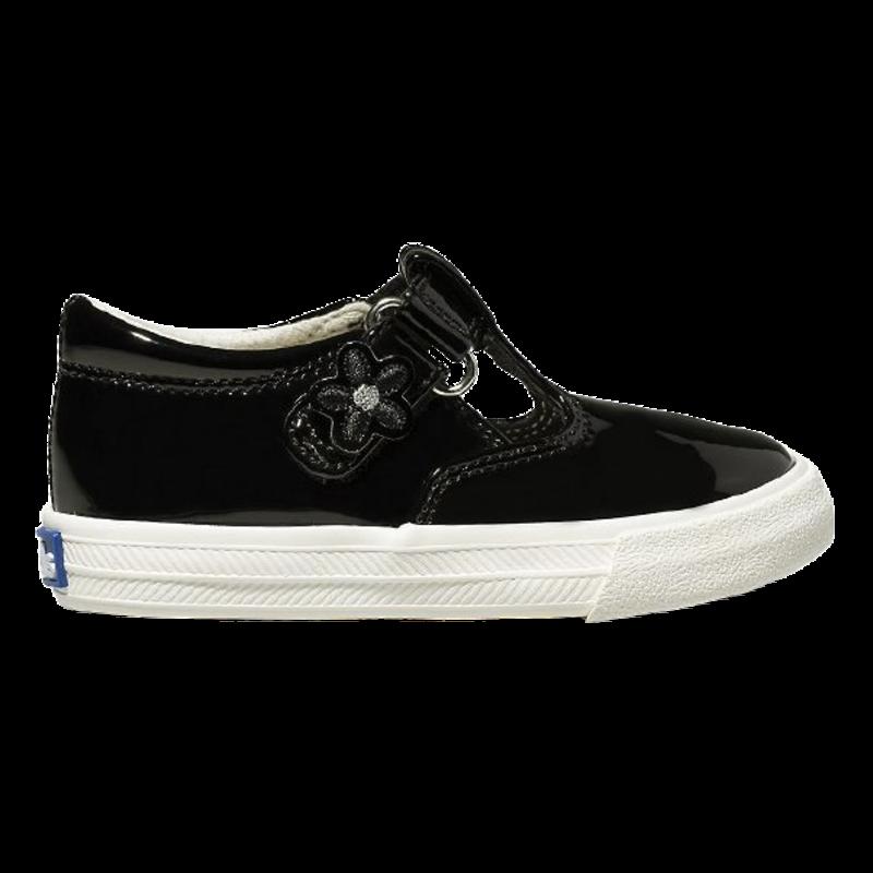 Keds Keds Daphne Black Patent Leather Sneaker