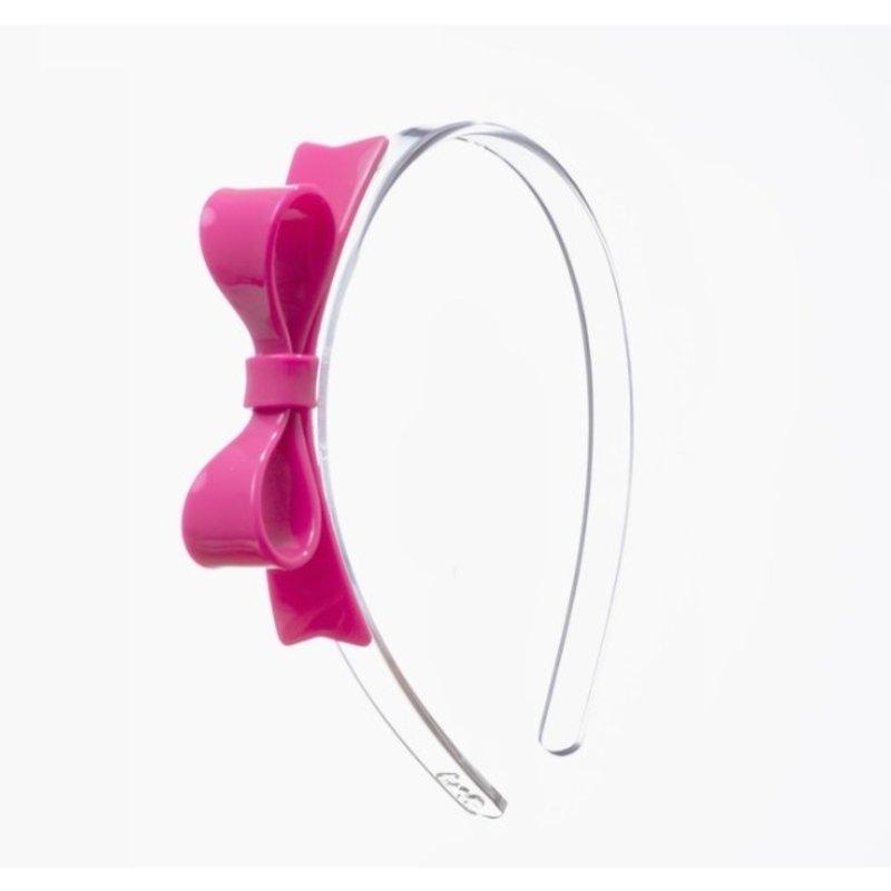 Bow Tie Pink Headband
