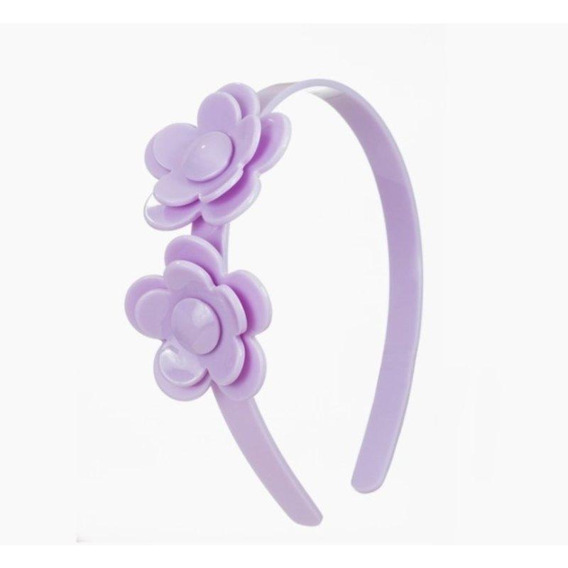 Camellia Flower Purple Headband