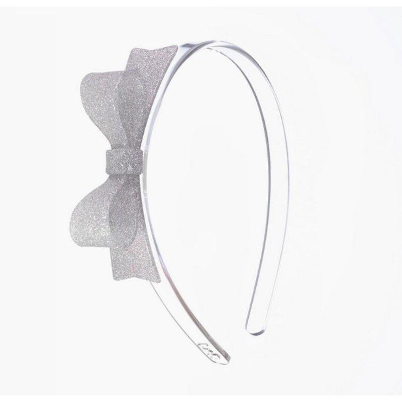 Bow Tie Silver Headband
