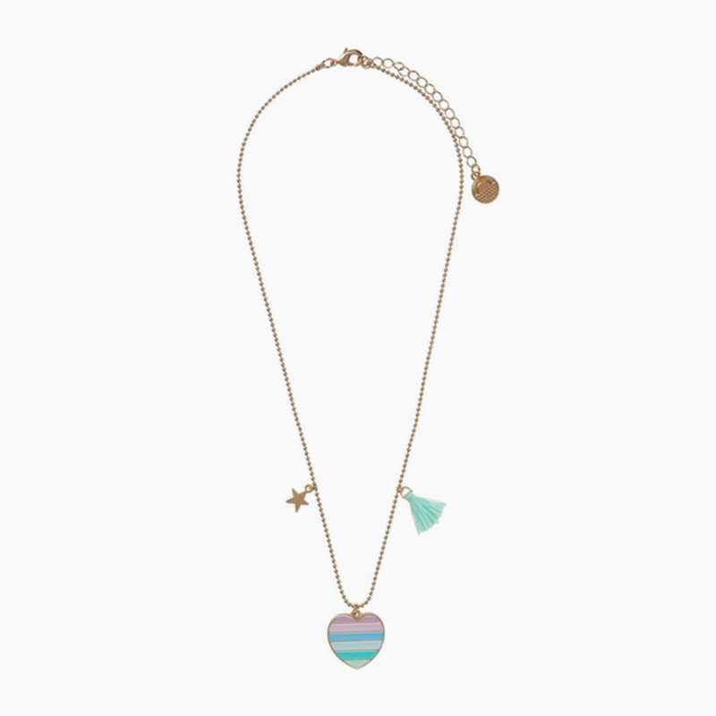 Calico Sun Carrie Necklace - Heart