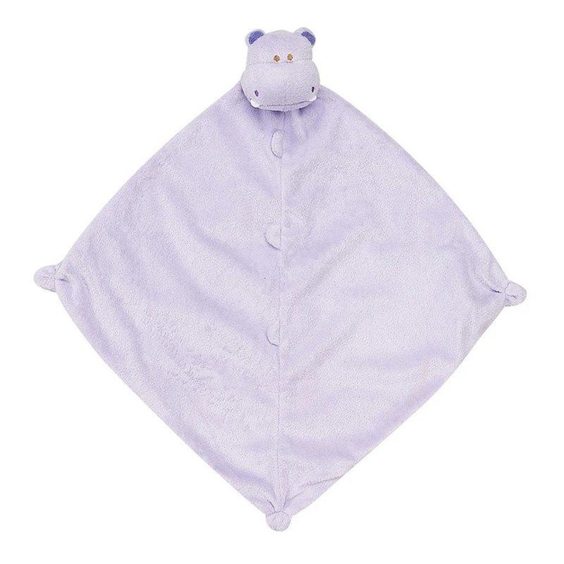 Angel Dear Angel Dear Purple Hippo Blankie
