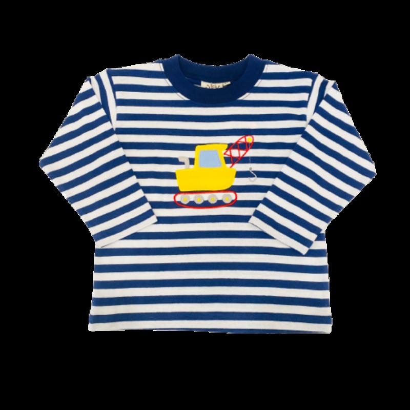 Luigi Luigi Stripe Crane T-Shirt