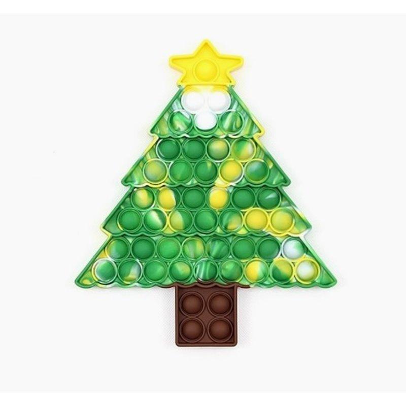Pop-It Christmas Tree Pop-It Green/Yellow