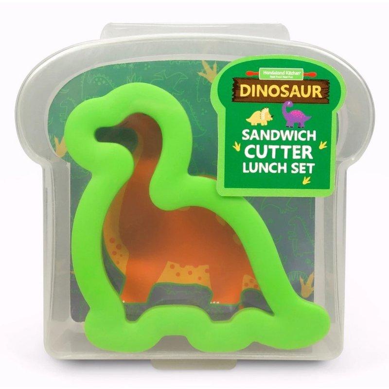 Handstand Kitchen Handstand Kitchen Dinosaur Sandwich Cutter Lunch Set