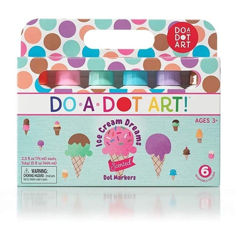 Do A Dot Art Scented Ice Cream Dreams Markers 6 Pack