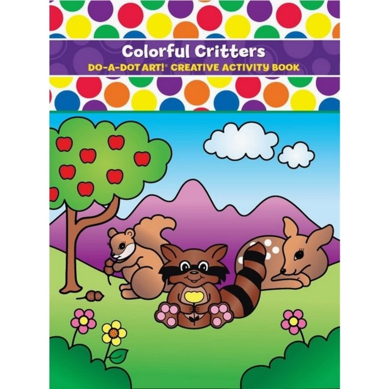 Do A Dot Art Colorful Critters Activity Book