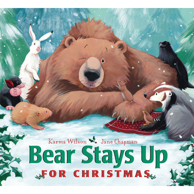 Simon and Schuster Bear Stays Up for Christmas