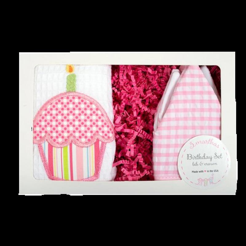 3 Marthas 3 Marthas Pink Birthday Box Set