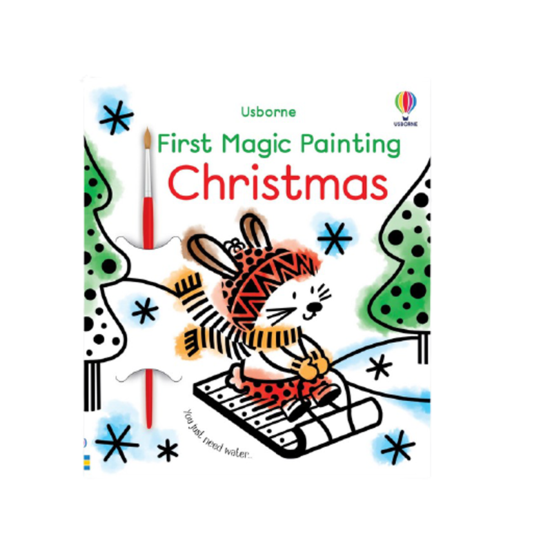 First Magic Painting: Christmas