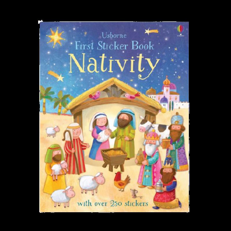 First Sticker Book: Nativity