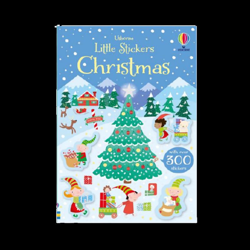 Usbourne Little Stickers Christmas