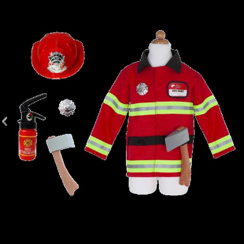 Great Pretenders Great Pretenders Fireman with Accessories