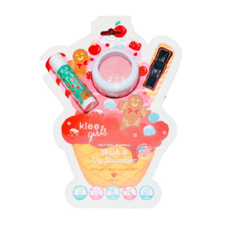 Klee Kids Klee Kids Holiday Blush & Lip Set - Gingerbread Dream