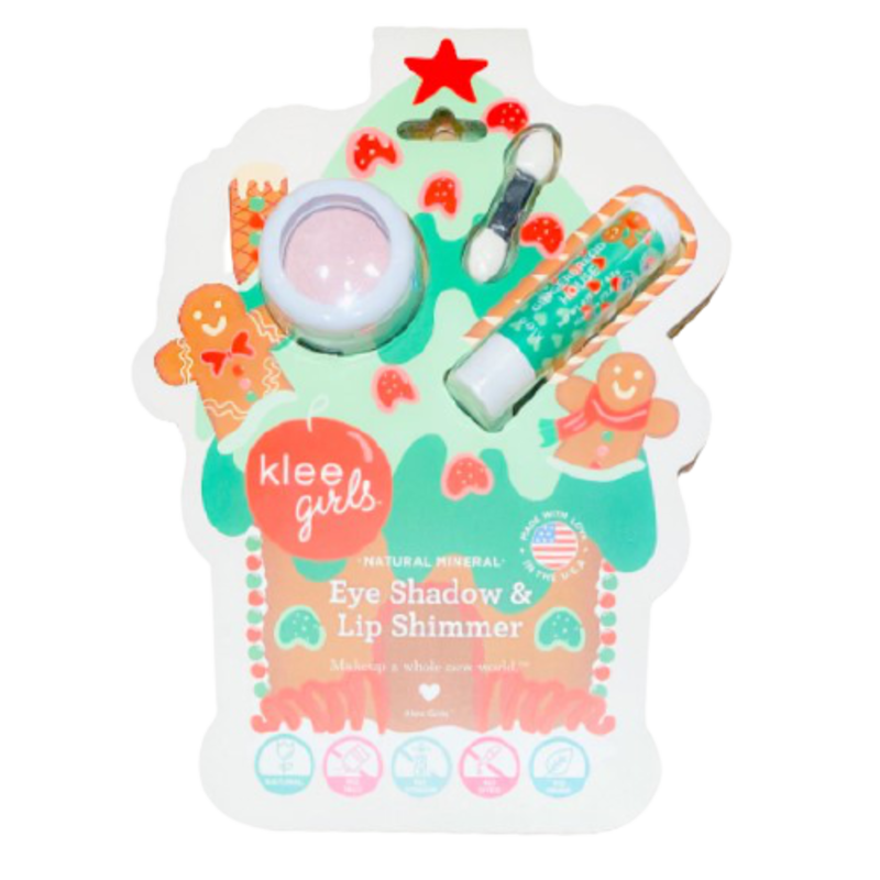 Klee Kids Klee Kids Holiday Eyeshadow & Lip Set - Cinnamon Shimmer