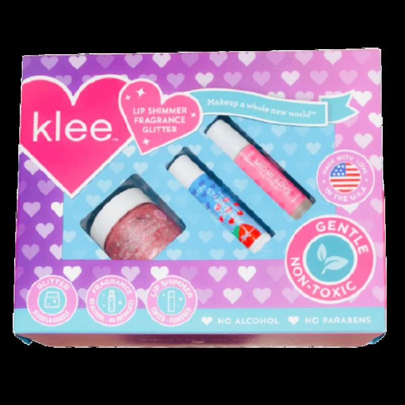 Klee Kids Klee Kids 3-Piece Makeup Kit - Upside Down