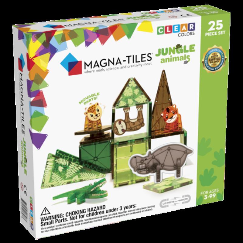 MAGNA-TILES Jungle Animals 25 Piece Set