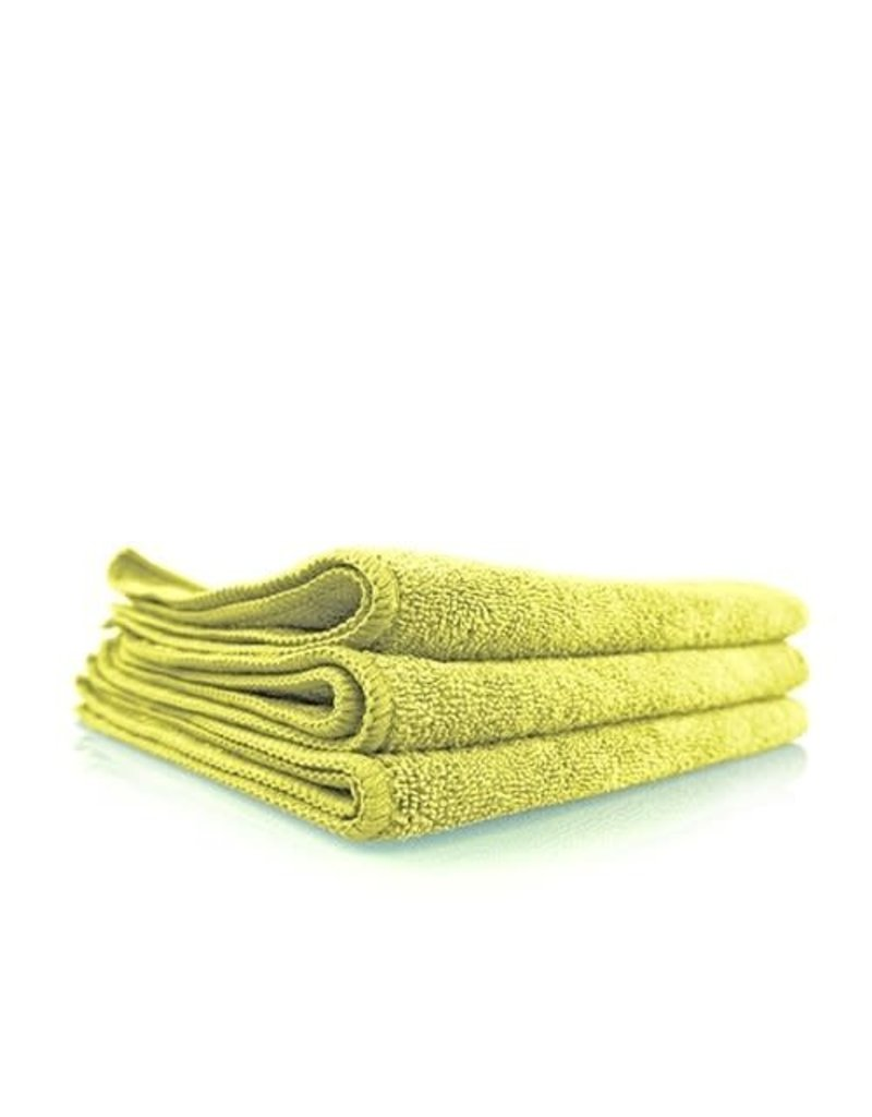 Chemical Guys The Workhorse Towel Professional Grade Microfiber Towels, Yellow (3 Pack)
