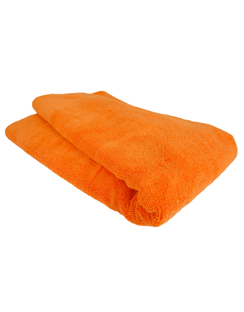 Chemical Guys Fatty Super Dryer Microfiber Towel, Orange 25'' X 36''