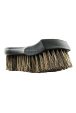 Chemical Guys Premium Select Horse Hair Interior Cleaning Brush for Leather, Vinyl, Fabric and More