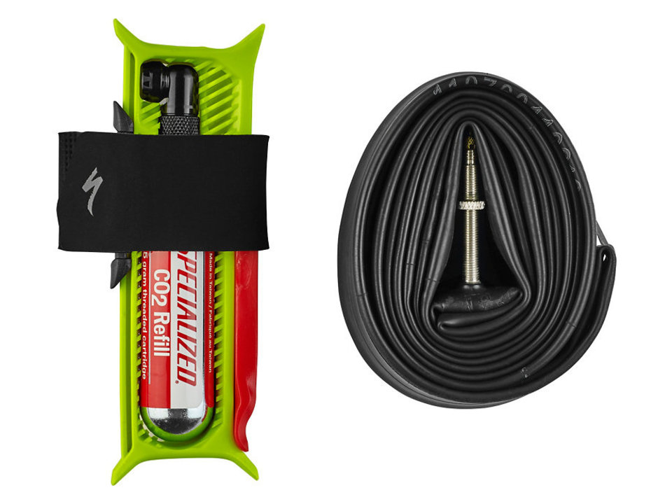 Specialized Tube Spool flat repair kit MTB (with 29er tube & CO2)