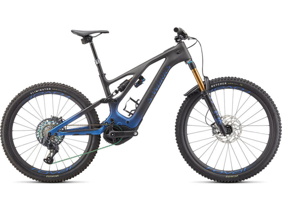 Specialized 2022 S-Works Turbo Levo Blue Ghost Gravity Fade/Black/Light Silver