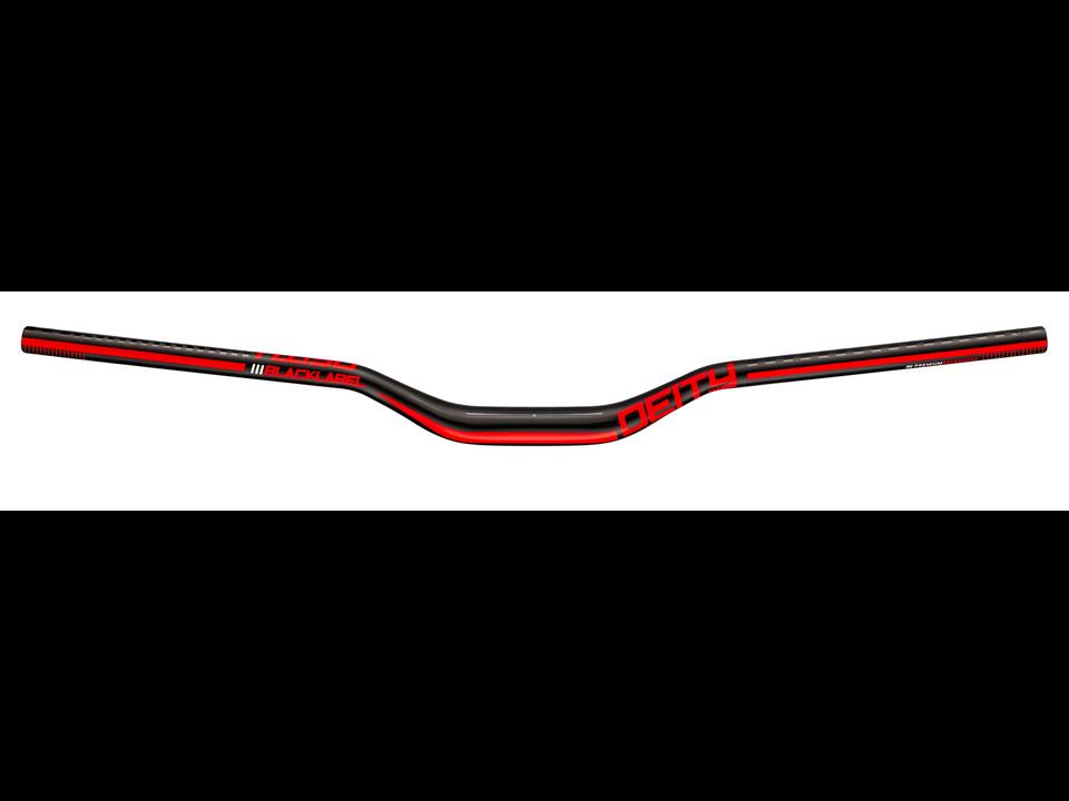 Deity Components Deity Handlebar Blacklabel 31.8x800mm x 38mm Rise