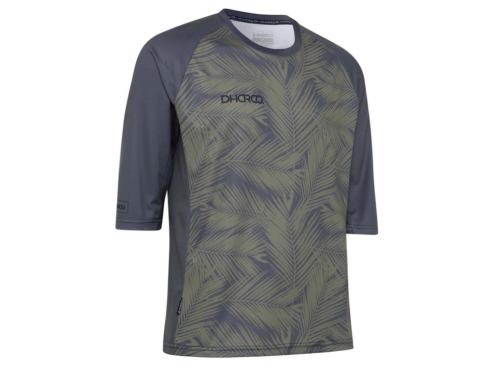 DHARCO CLEARANCE - DHaRCO Men's 3/4 Sleeve Jersey Carbon Blades Small