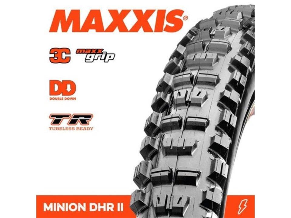 Maxxis Maxxis Minion DHR II DD 3C MaxxGrip 27.5 x 2.40WT