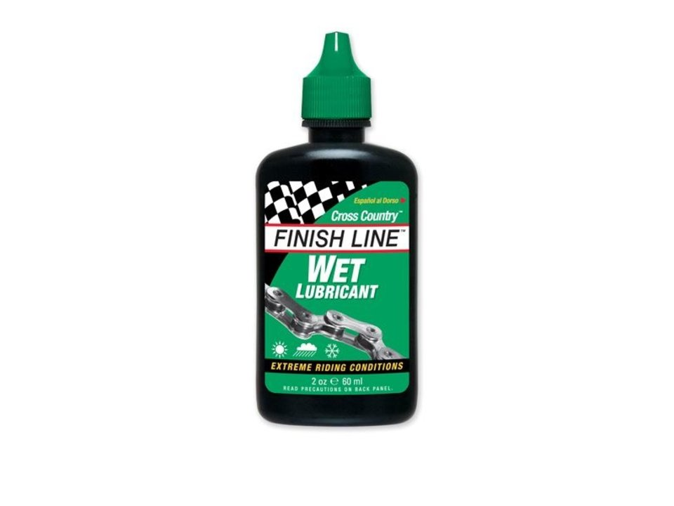 Finish Line Finish Line WET Lube - 2oz Drip Squeeze Bottle