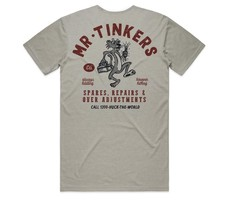 """Huck The World Huck The World Cotton Tee """"Mr Tinkers"""""""