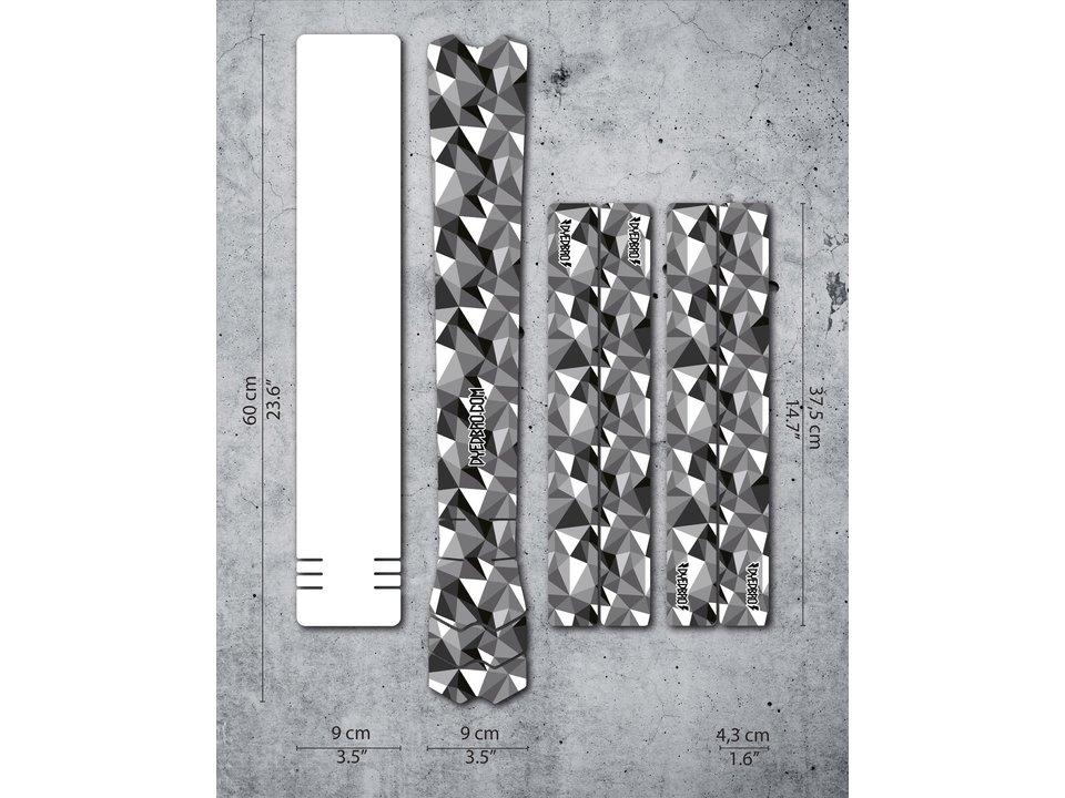 Dyedbro Dyedbro Frame Protection Wrap Geometric
