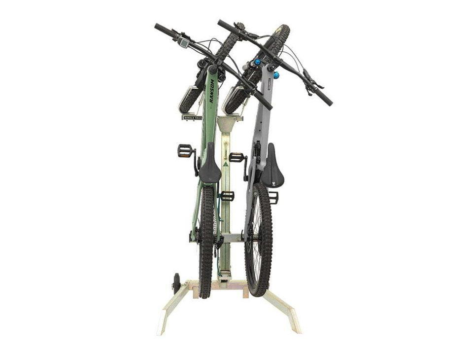 Single Track Single Trail Rack 2 Bike Tilting