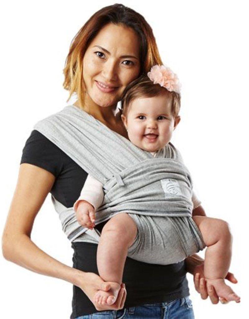 Baby K'Tan Écharpe sans noeud grise