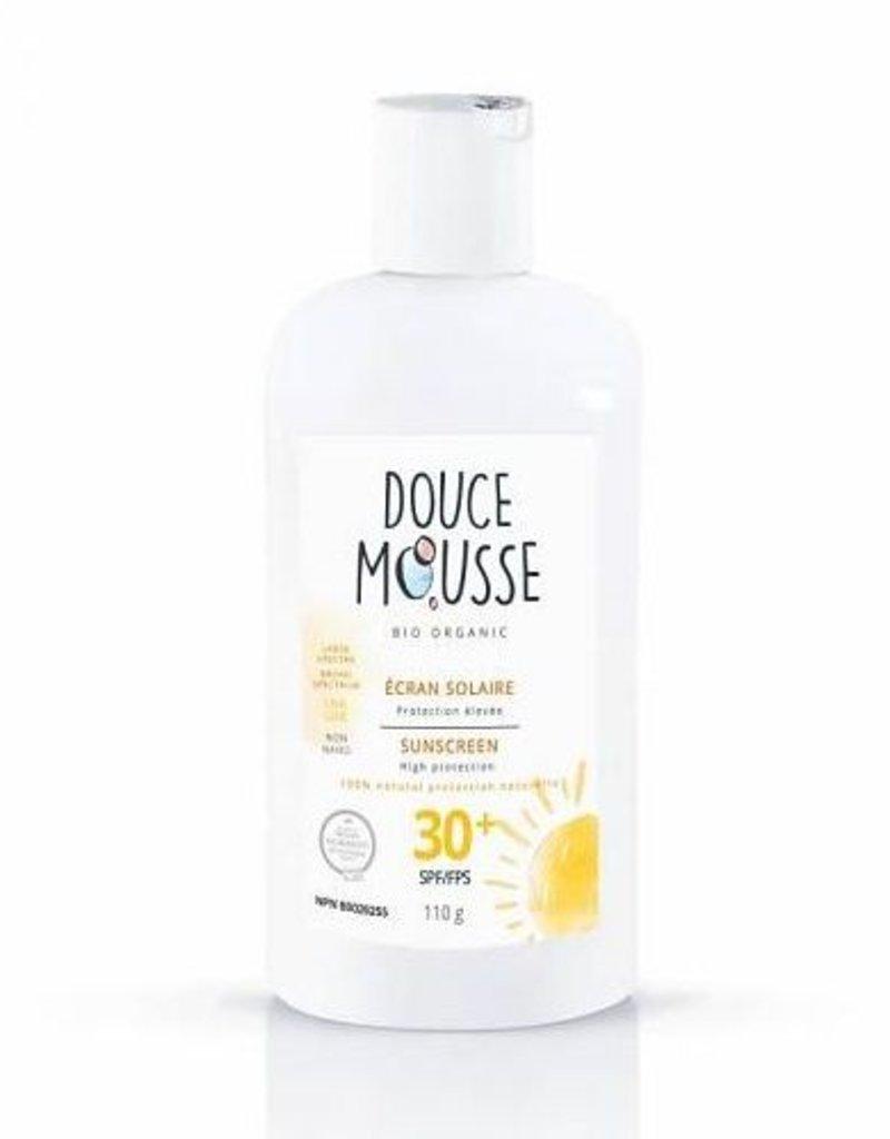 Douce Mousse Crème solaire naturelle FPS 30+ 110g