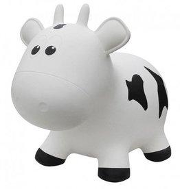 Farm hoppers Animal sauteur vache blanche