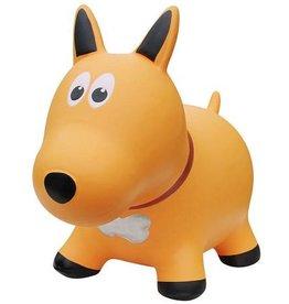 Farm hoppers Animal sauteur chien jaune