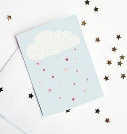 Article 721 Carte de voeux nuages