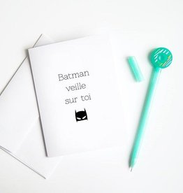 Article 721 Carte de voeux batman