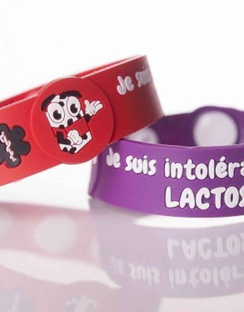 Secallergies Bracelet d'allergie : Lactose