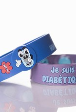 Secallergies Bracelet d'allergie : Diabétique