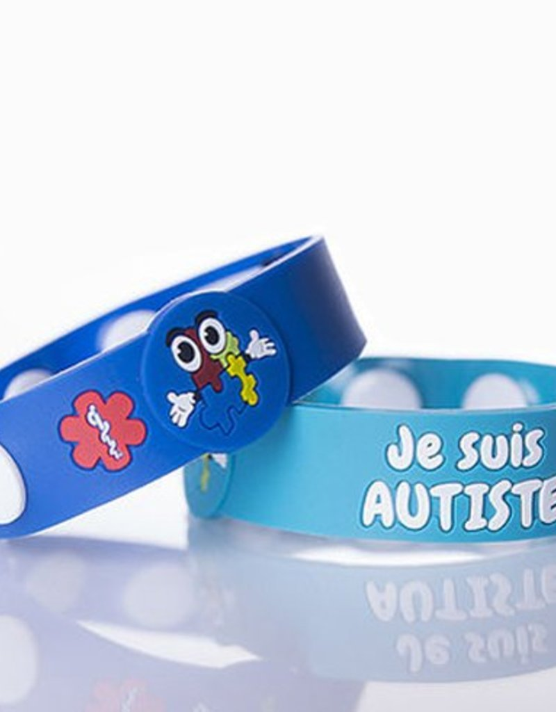 Secallergies Bracelet d'allergie : Autisme