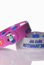 Secallergies Bracelet d'allergie : Asthmatique