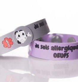 Secallergies Bracelet d'allergie : Oeufs